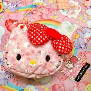 Hello Kitty Authentic Puroland Plush Pouch
